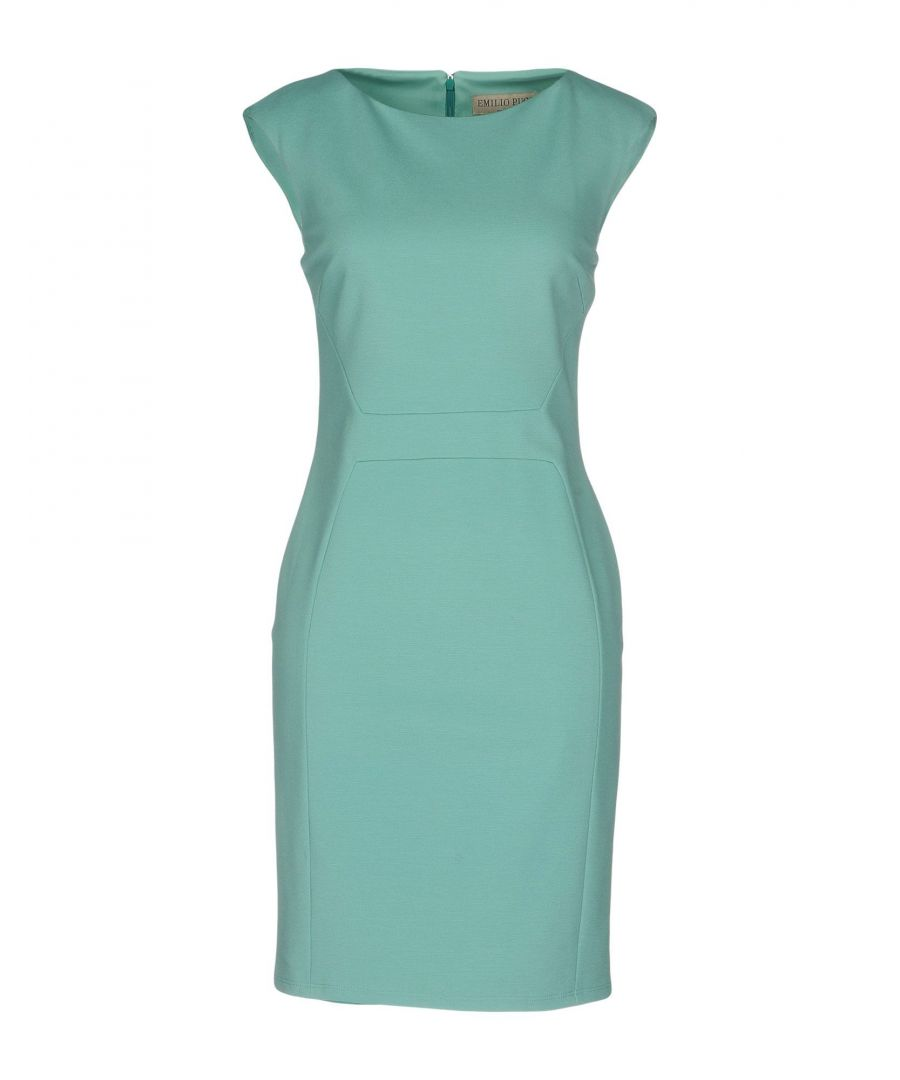 Image for Emilio Pucci Blue Jersey Sleeveless Dress