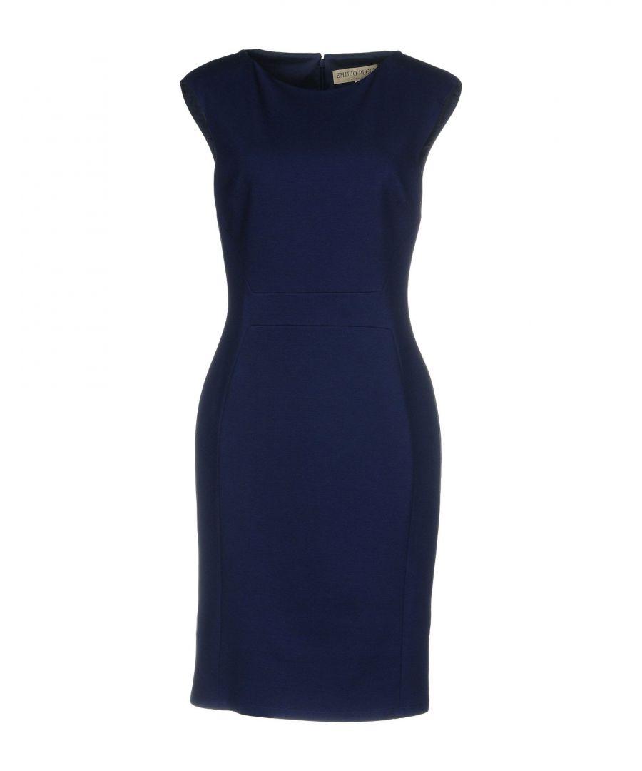 Image for Emilio Pucci Blue Sleeveless Dress