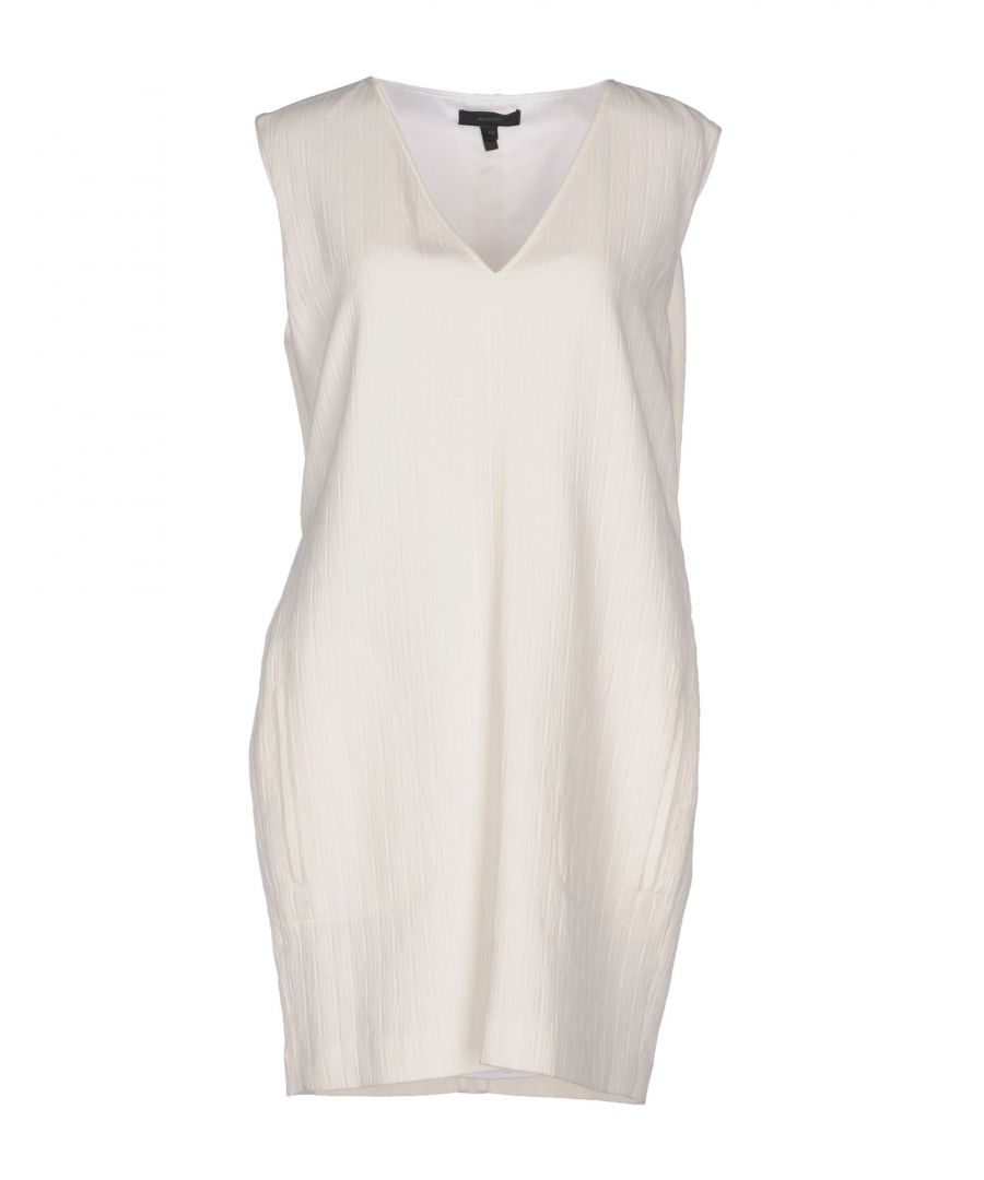 Image for Belstaff Ivory Cotton Short Dress