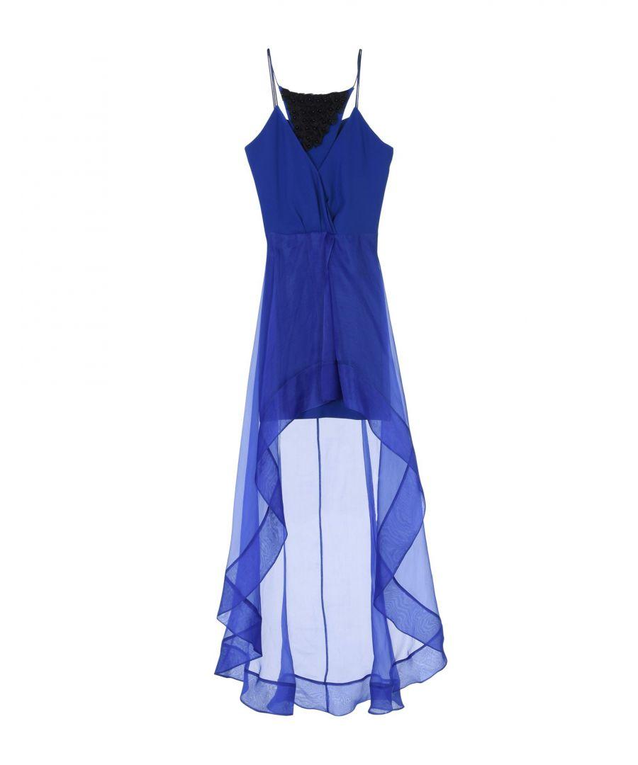 Image for Hanita Blue Crepe Dress