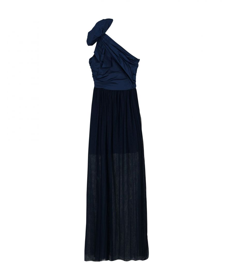 Image for Pinko Dark Blue Full Length Dress