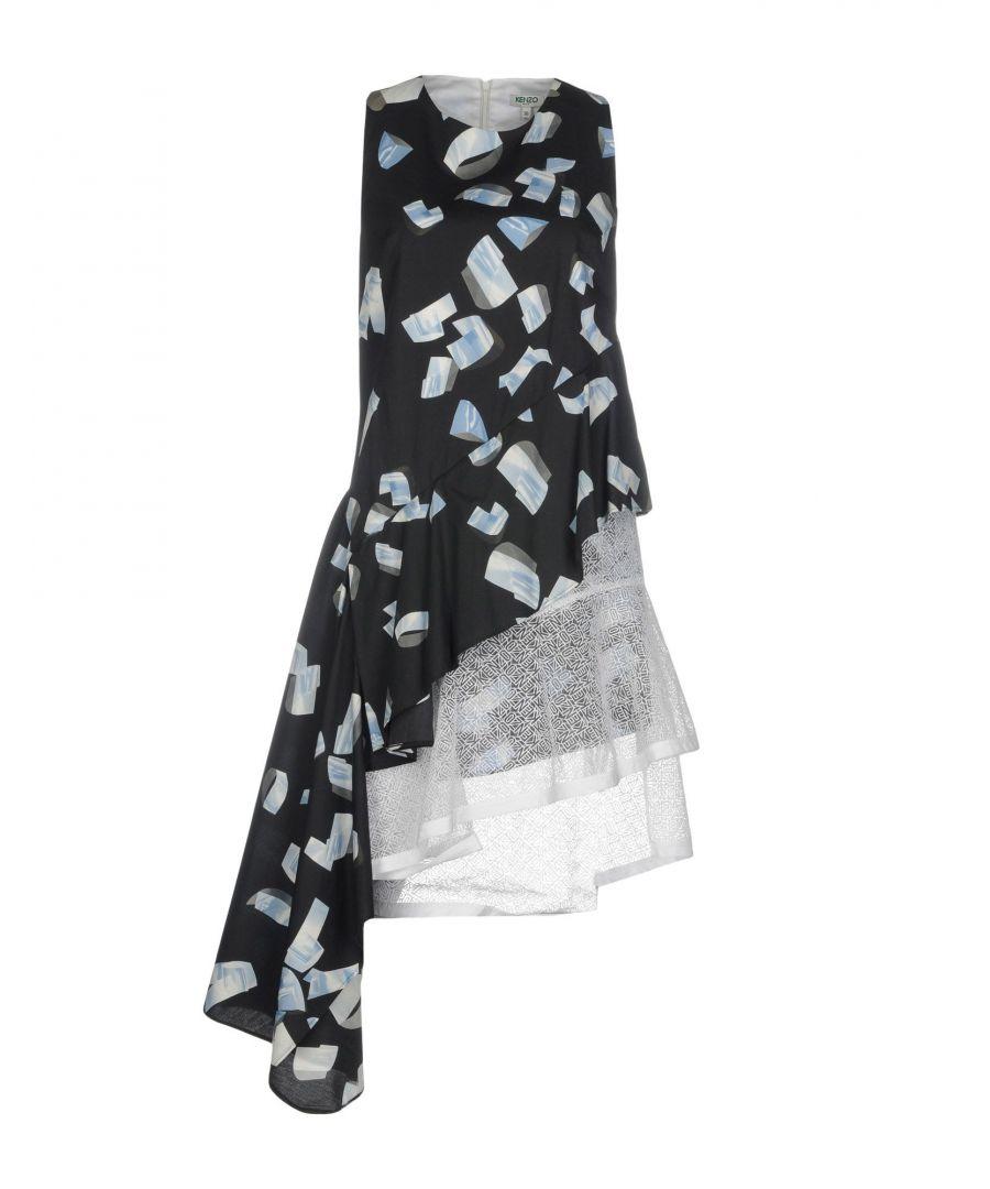 Image for DRESSES Kenzo Dark blue Woman Cotton
