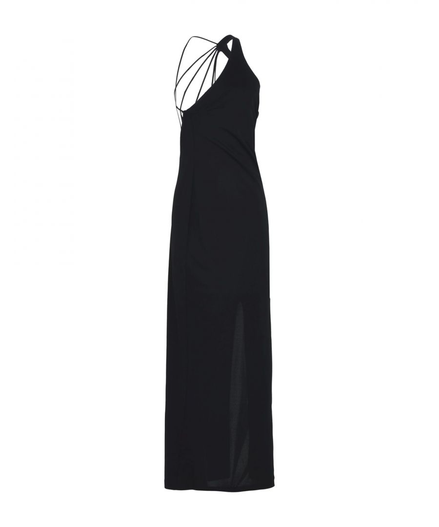 Image for Pinko By Arzu Sabanci Black Crepe Sleeveless Dress