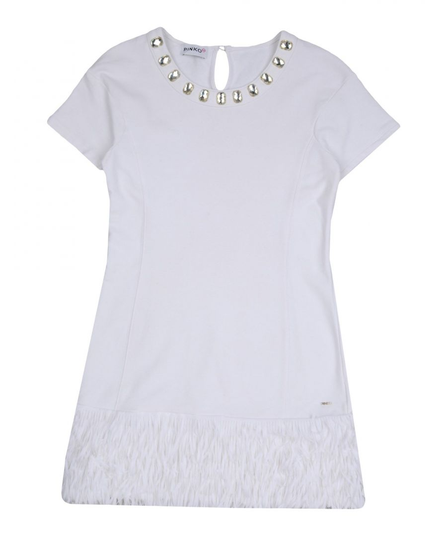 Image for DRESSES Pinko Up White Girl Cotton