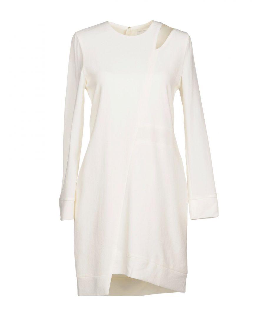 Image for Iro Ivory Crepe Long Sleeve Dress