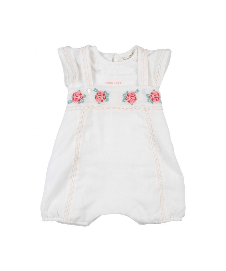 Image for BODYSUITS & SETS Twinset White Girl Cotton