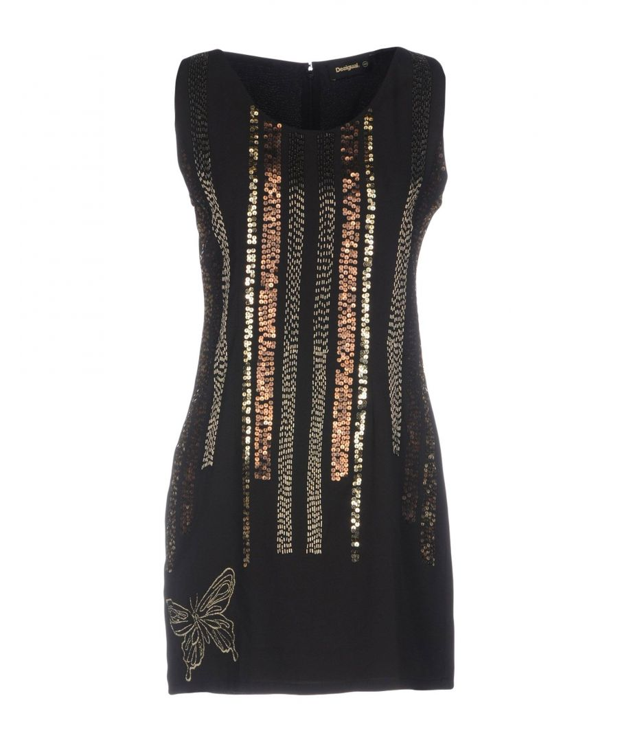 Image for DRESSES Desigual Black Woman Polyester