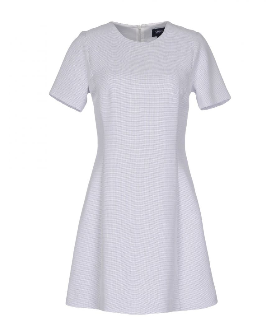 Image for Armani Jeans Light Grey Modal Short Sleeve Dress