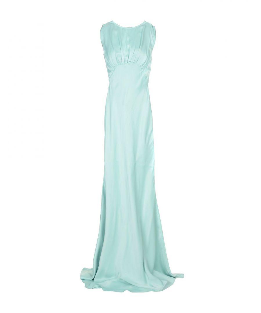 Image for Elisabetta Franchi Light Green Full Length Dress