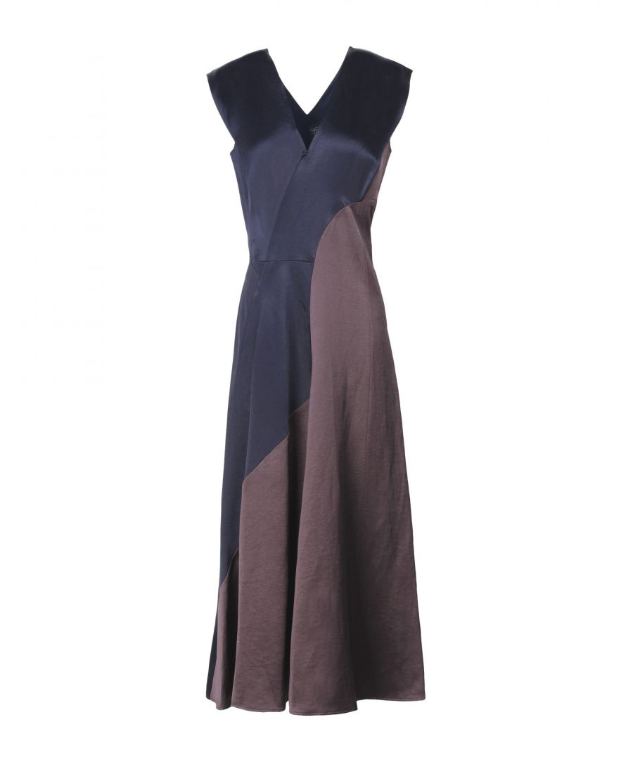 Image for Zero + Maria Cornejo Dark Blue Sleeveless Dress