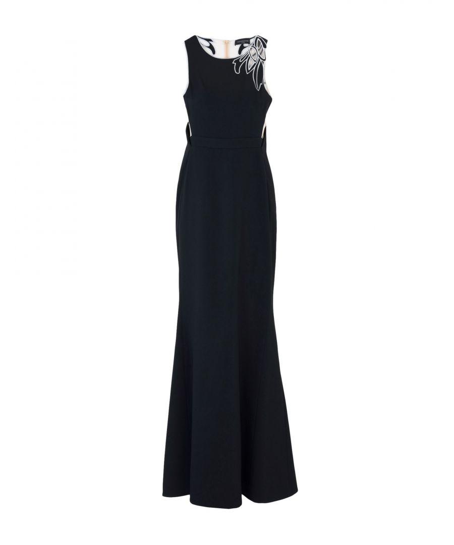 Image for Maria Grazia Severi Black Full Length Dress