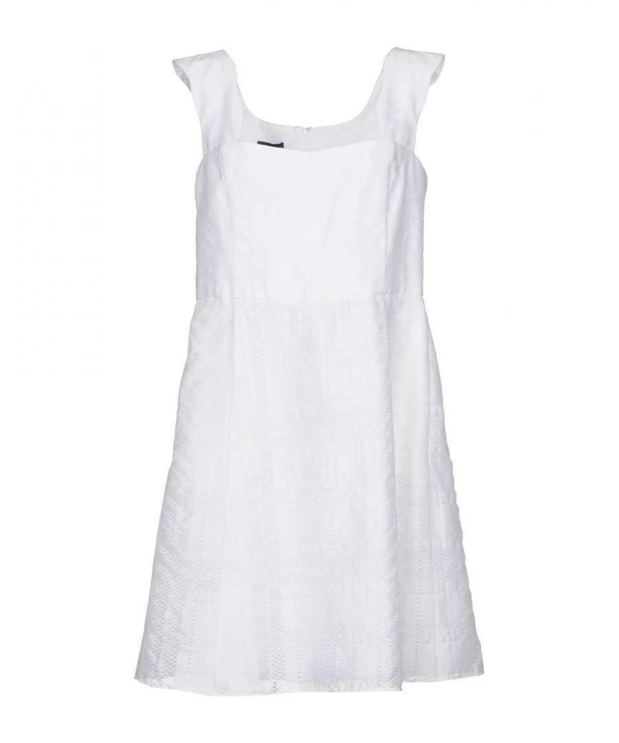 Image for Emporio Armani White Cotton Dress