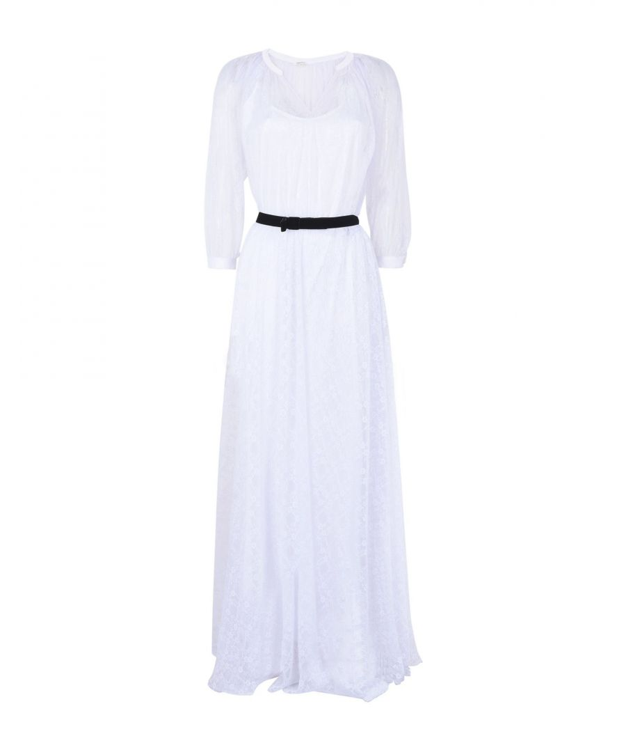 Image for Manoush White Full Length Dress