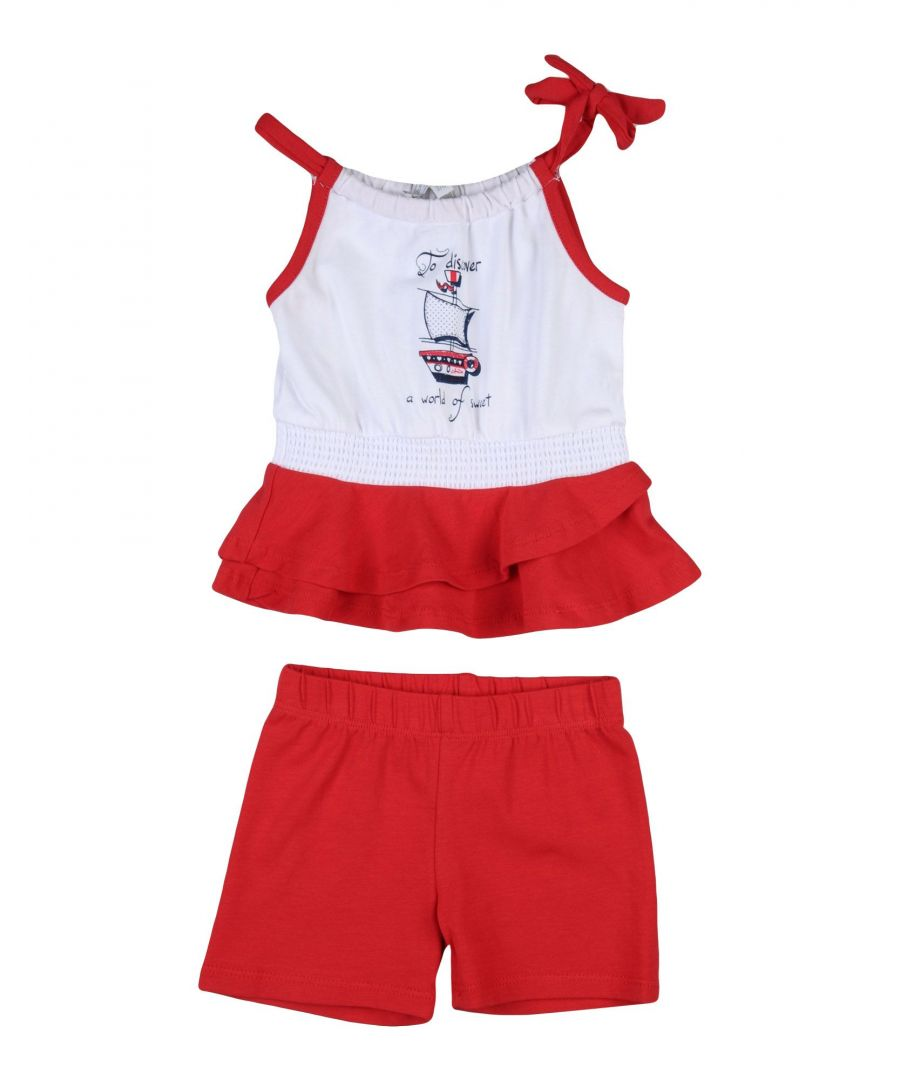 Image for BODYSUITS & SETS Girl Heach Dolls By Silvian Heach Red Cotton
