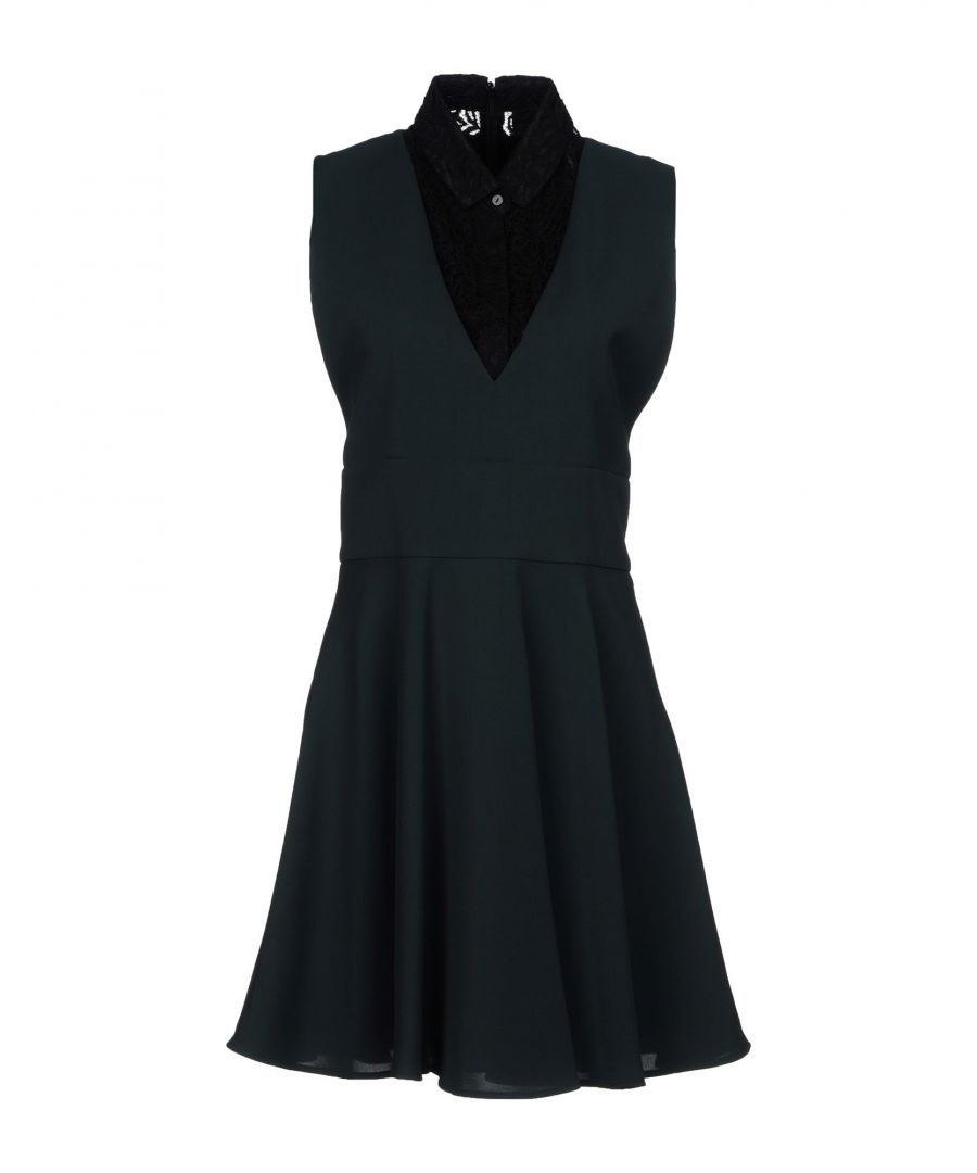 Image for The Kooples Dark Green Lace Sleeveless Dress
