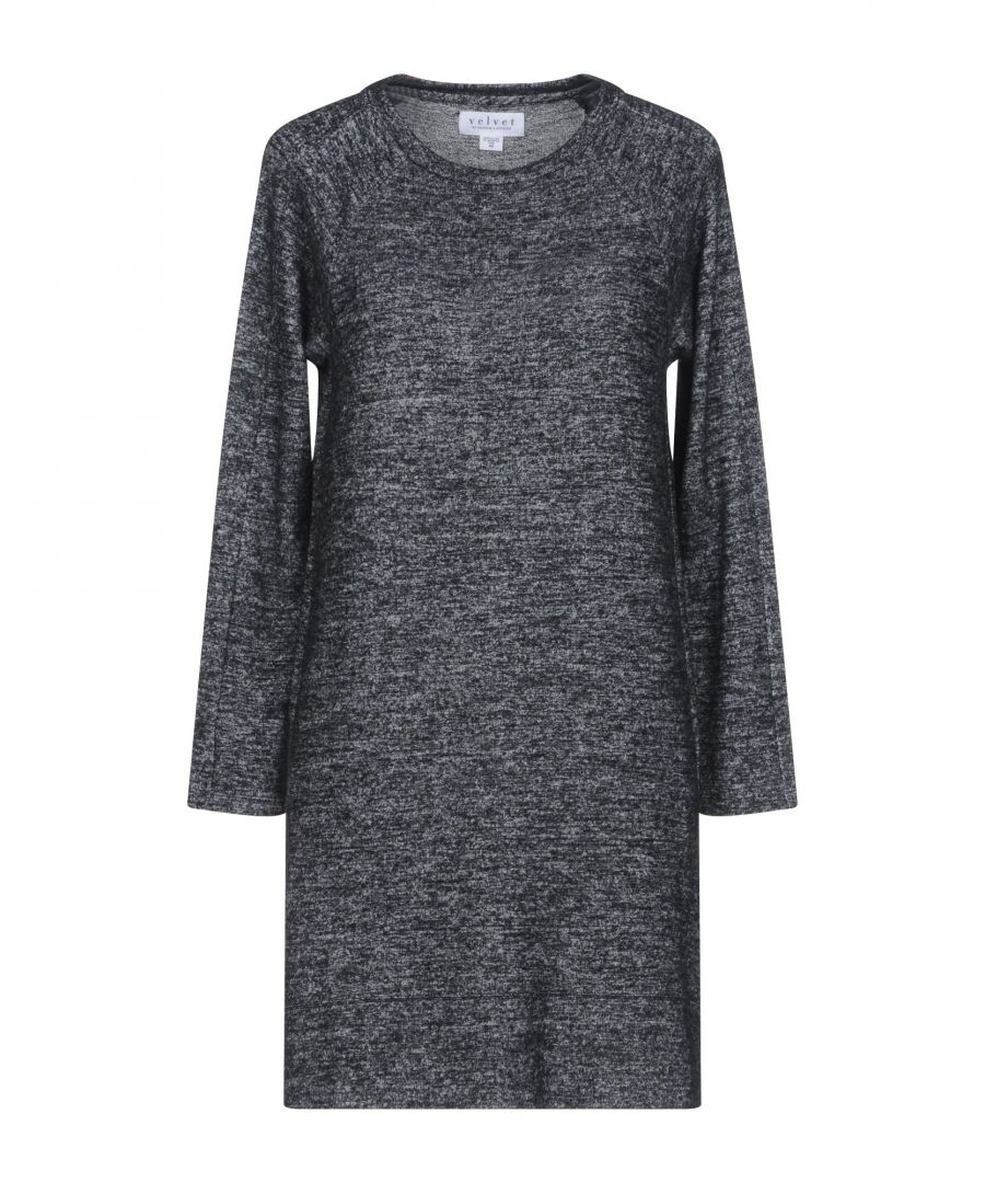 Image for DRESSES Velvet By Graham & Spencer Steel grey Woman Polyester