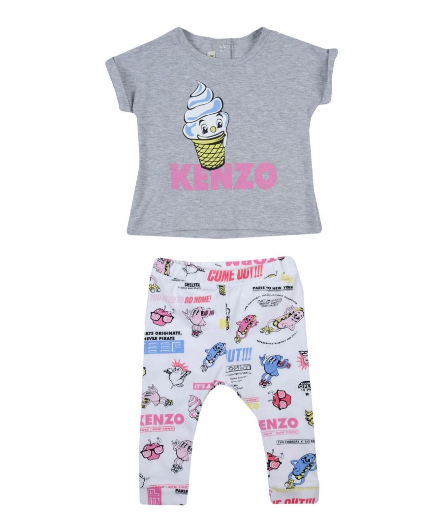 Image for BODYSUITS & SETS Kenzo Grey Girl Cotton