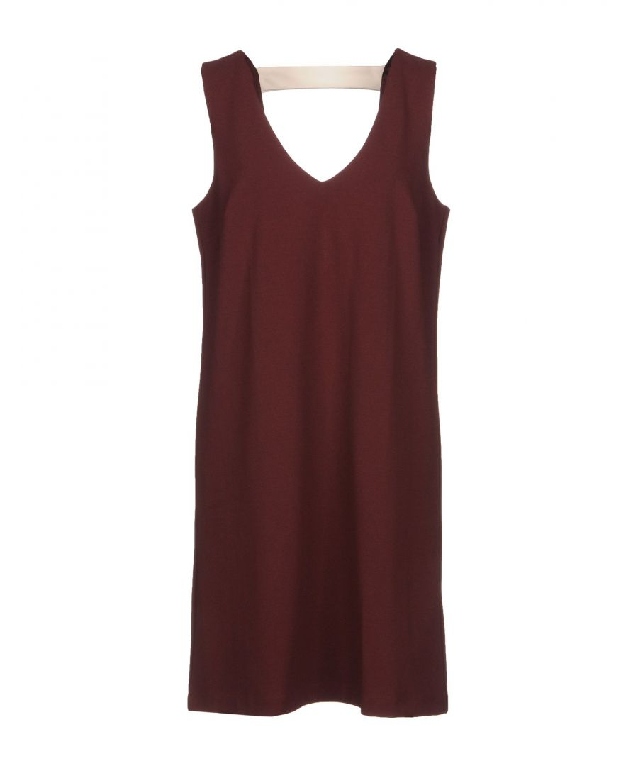 Image for DRESSES ..,Merci Maroon Woman Polyester