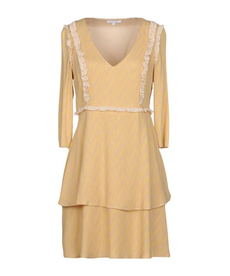 Image for Patrizia Pepe Beige Long Sleeve Dress