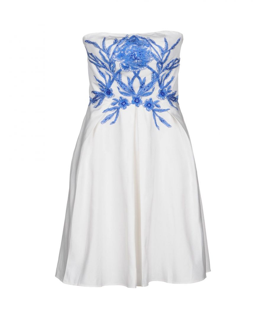 Image for Marchesa Notte White Cotton Dress