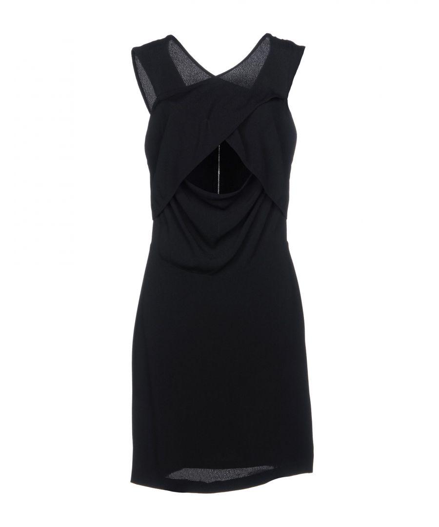 Image for DRESSES Sandro Black Woman Viscose