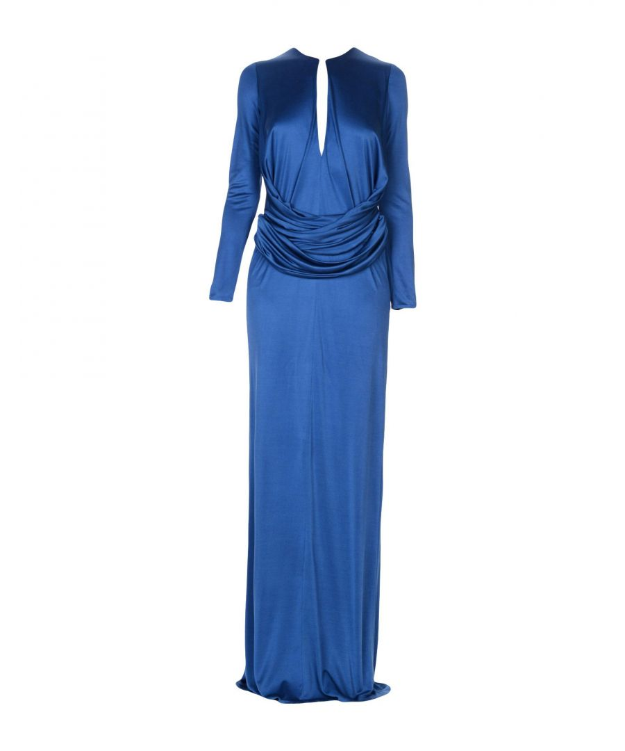 Image for DRESSES Issa Blue Woman Viscose