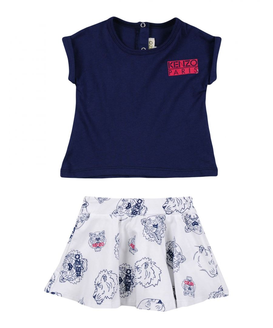 Image for BODYSUITS & SETS Kenzo Dark blue Girl Cotton