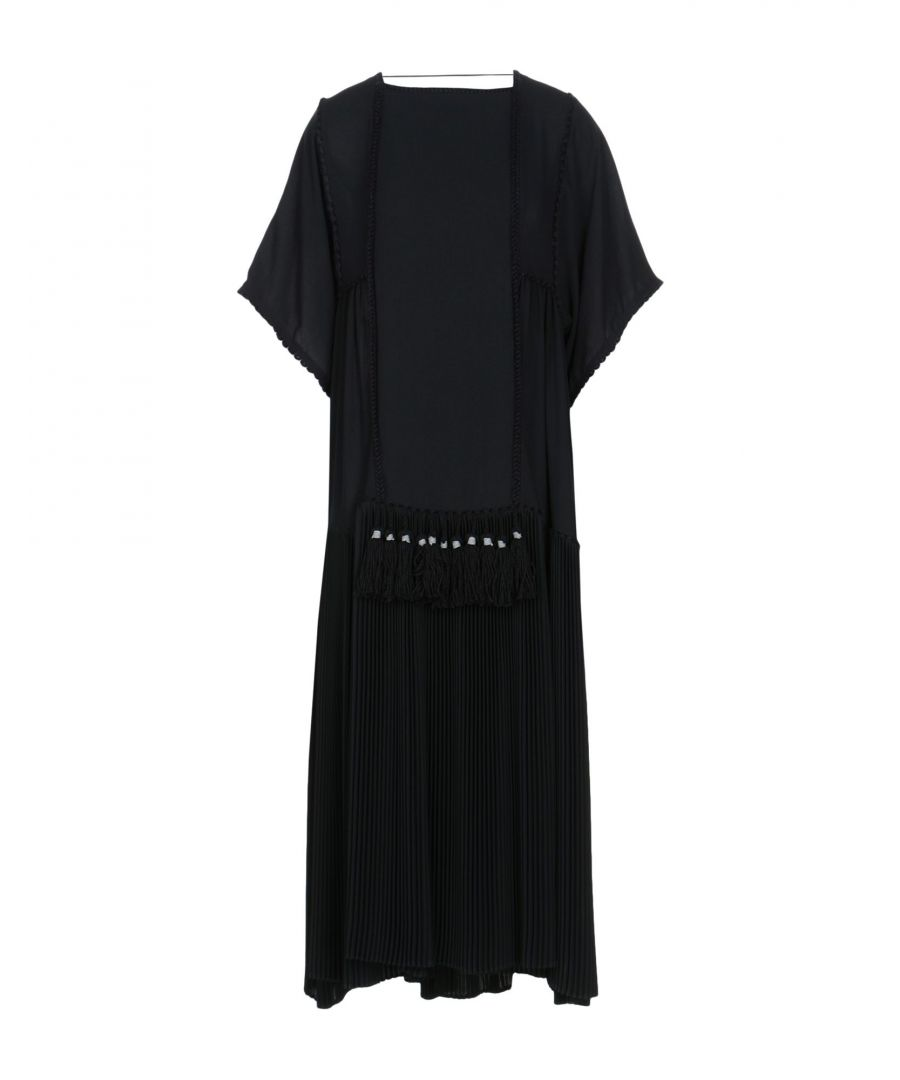 Image for Veronique Brainquinho Black Full Length Dress