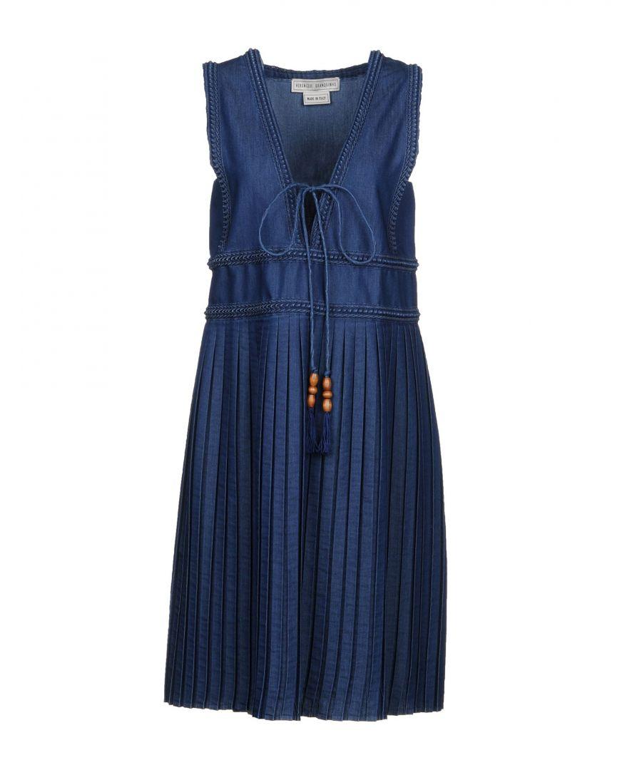 Image for Veronique Branquinho Blue Denim Dress