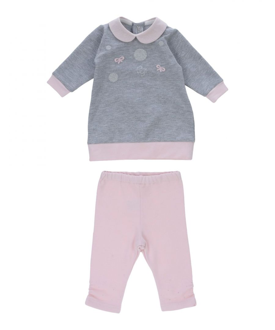 Image for BODYSUITS & SETS Girl Carlo Pignatelli Grey Cotton