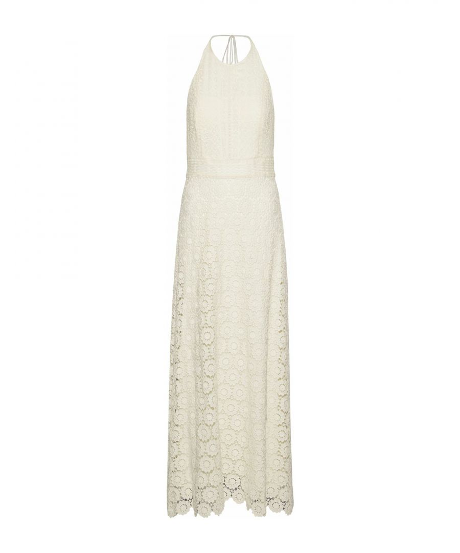 Image for Theory Ivory Cotton Lace Dress