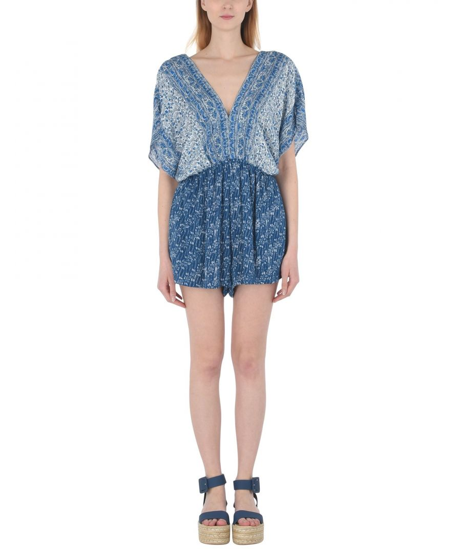 Image for Free People Blue Playsuit