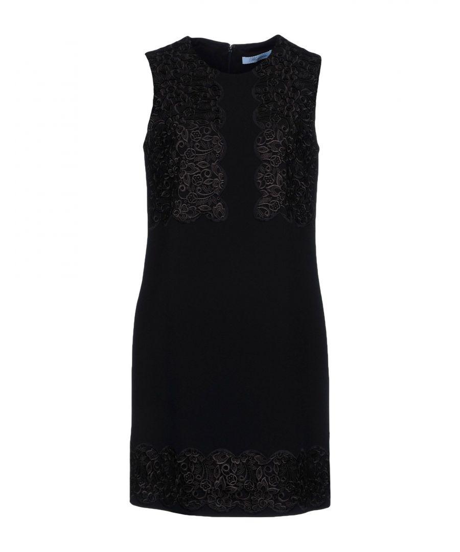 Image for Blumarine Black Sleeveless Dress