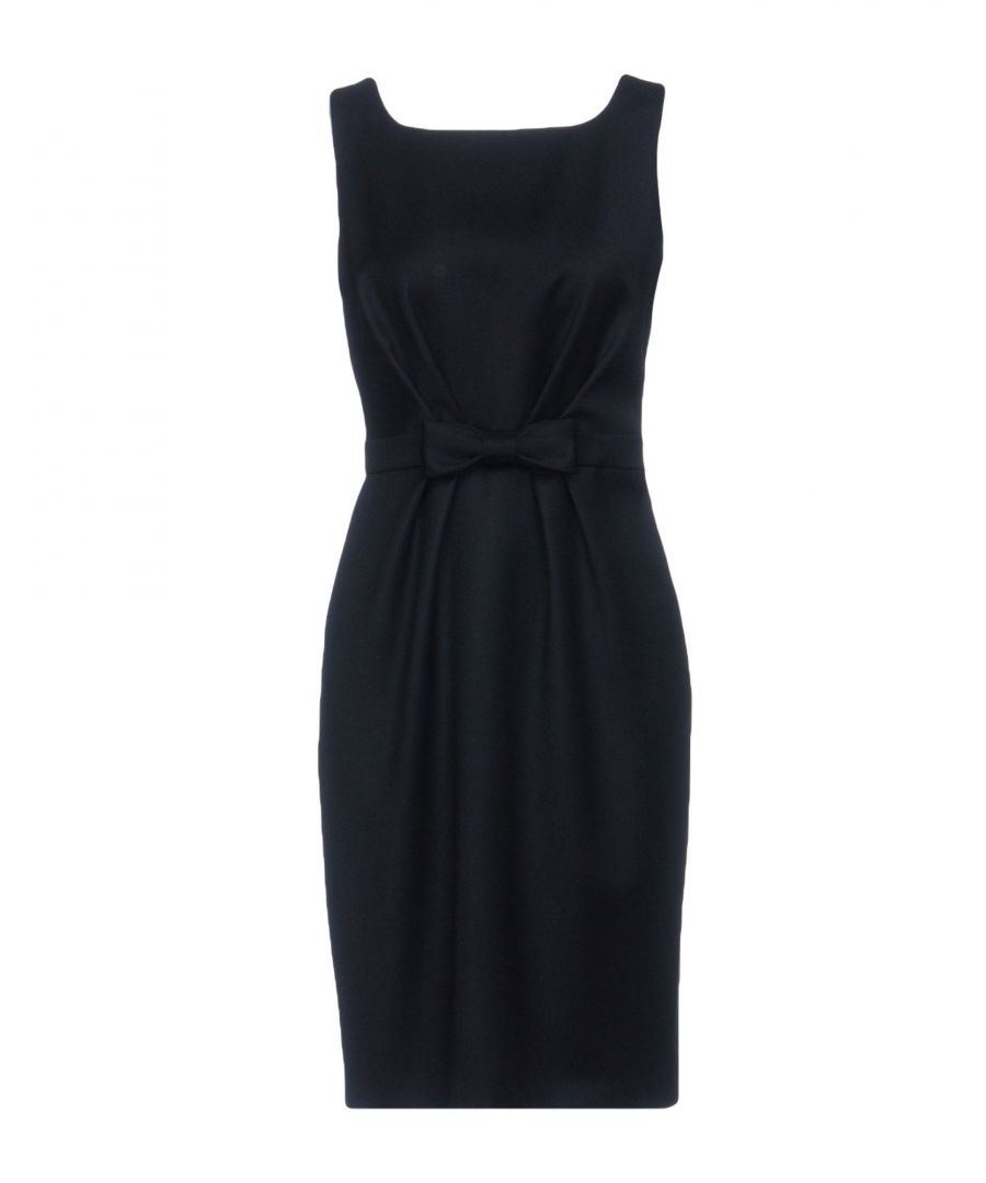 Image for Boutique Moschino Black Virgin Wool Dress