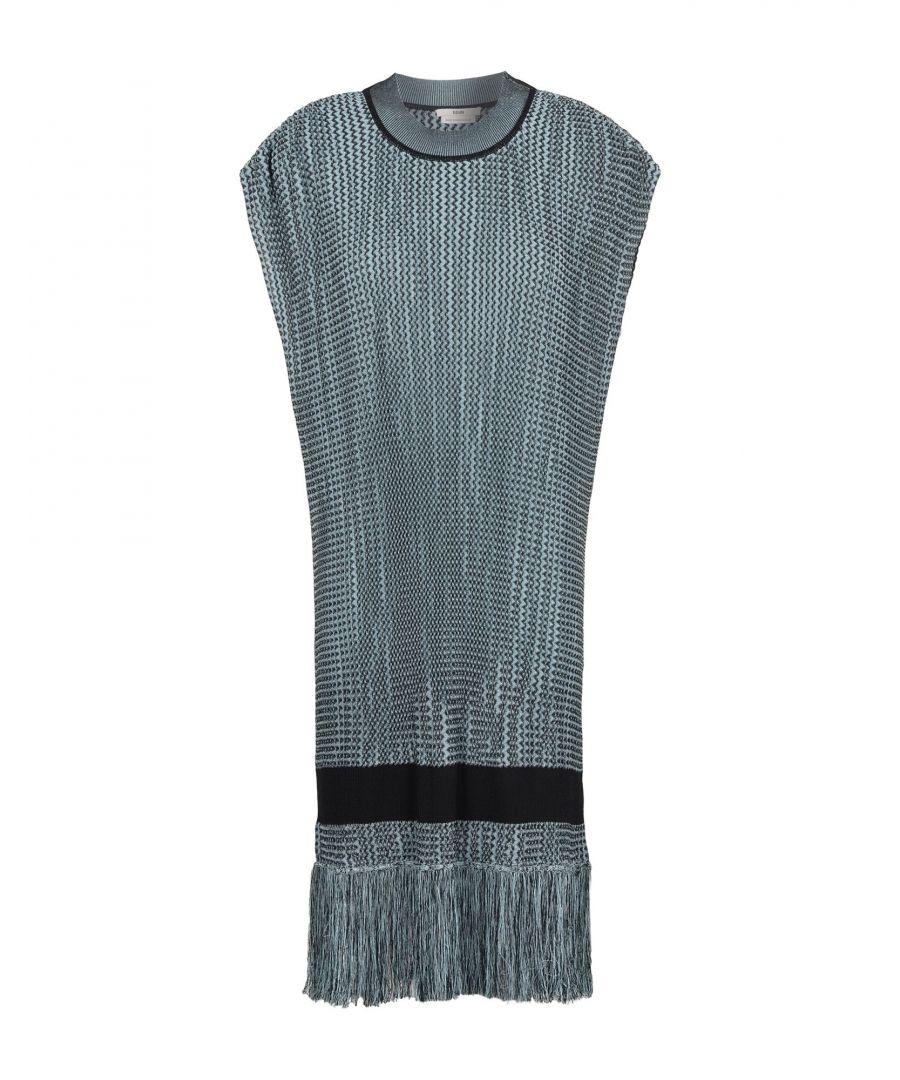 Image for Edun Sky Blue Viscose Short Dress