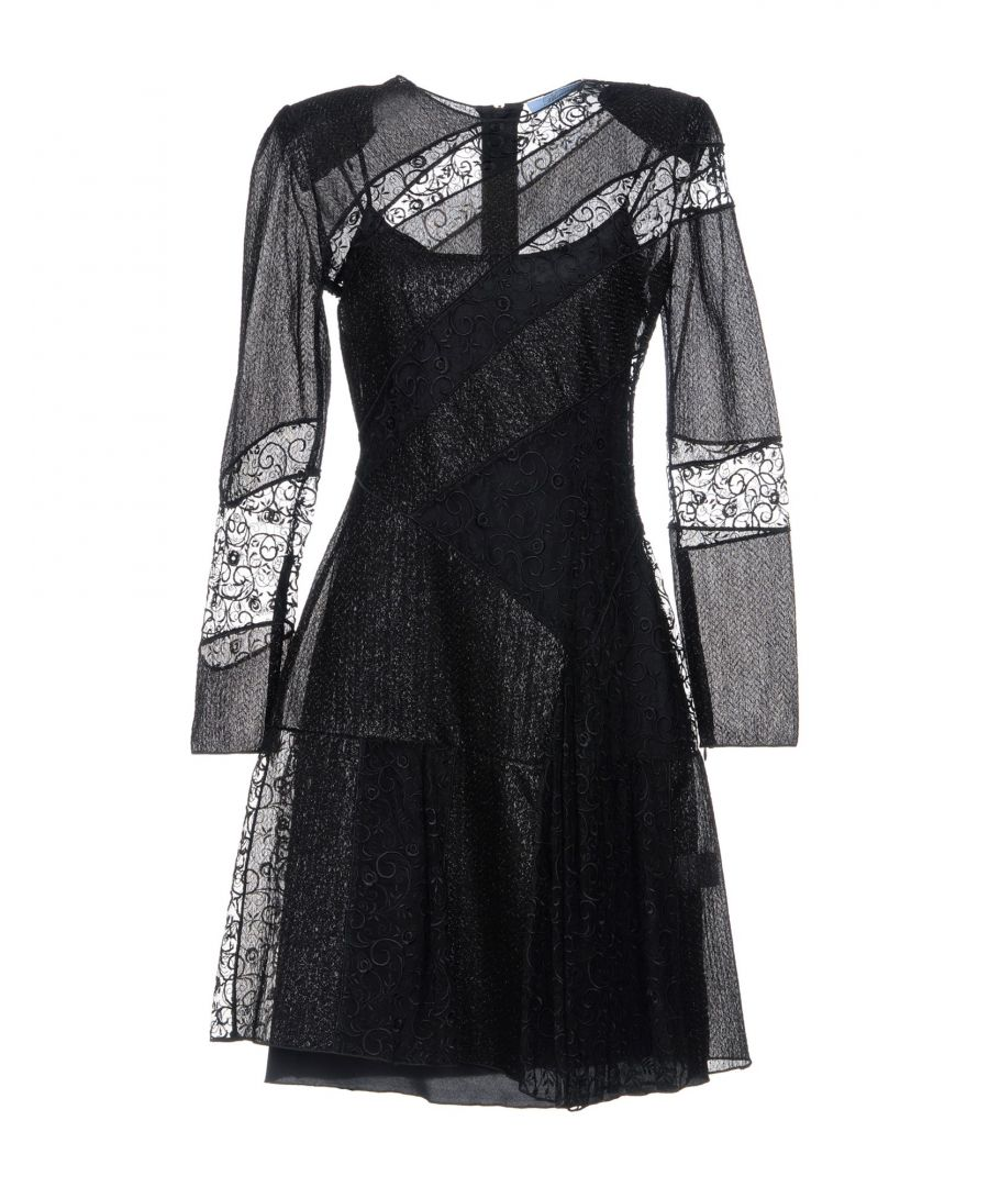 Image for Blumarine Black Tulle And Embroidered Dress