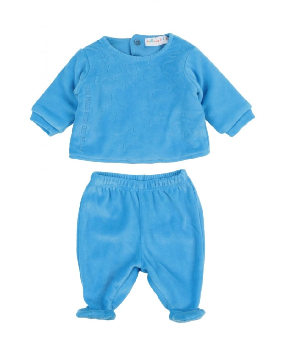 Image for BODYSUITS & SETS Boy Agatha Ruiz De La Prada Baby Azure Cotton