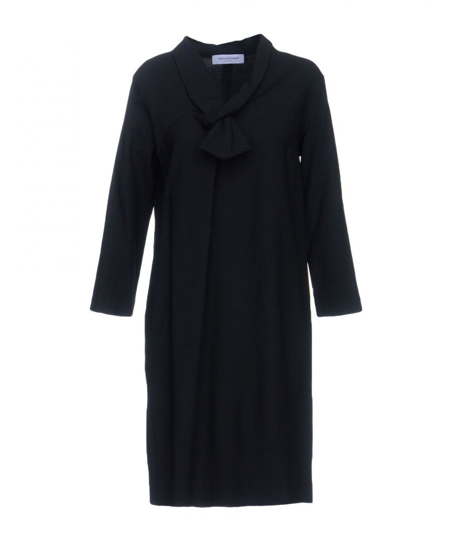 Image for Anna Rachele Jeans Collection Black Long Sleeve Dress