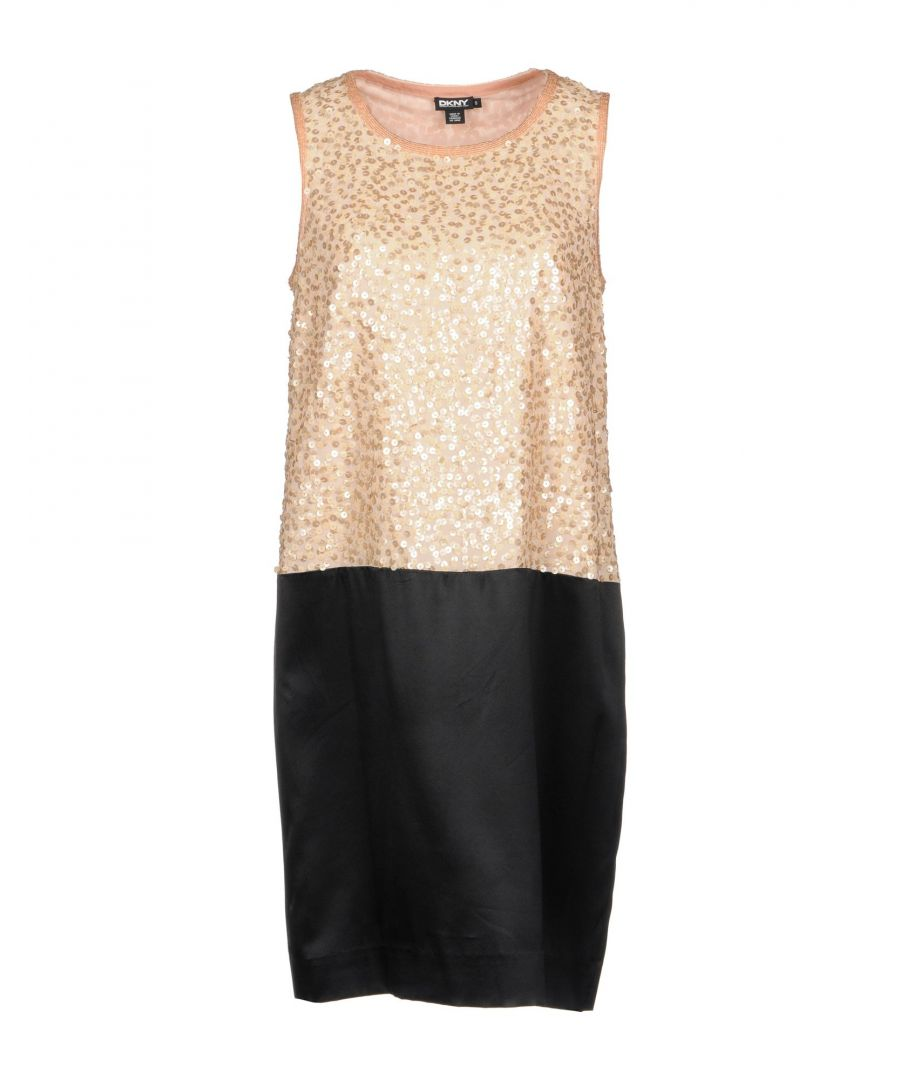 Image for DRESSES Dkny Beige Woman Silk