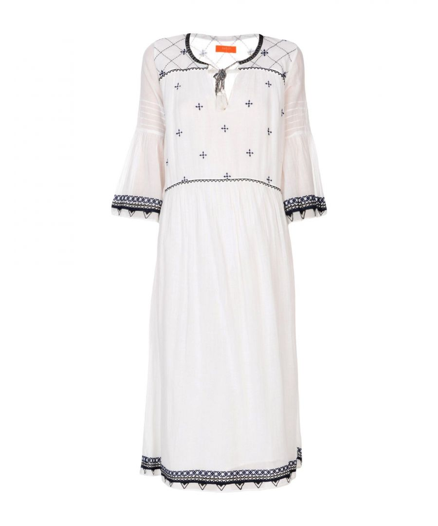 Image for Ba&Sh White Cotton Dress