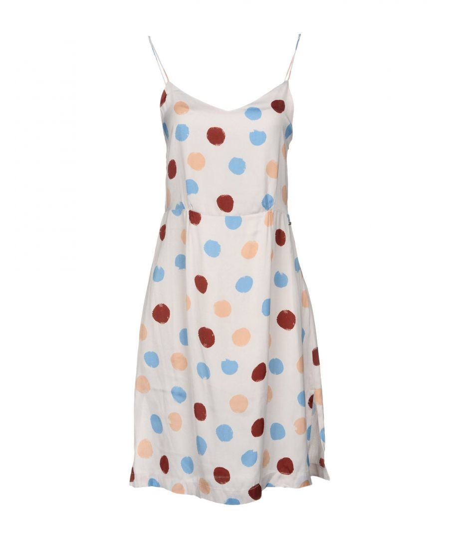 Image for Pepe Jeans Light Grey Spot Print Camisole Dress
