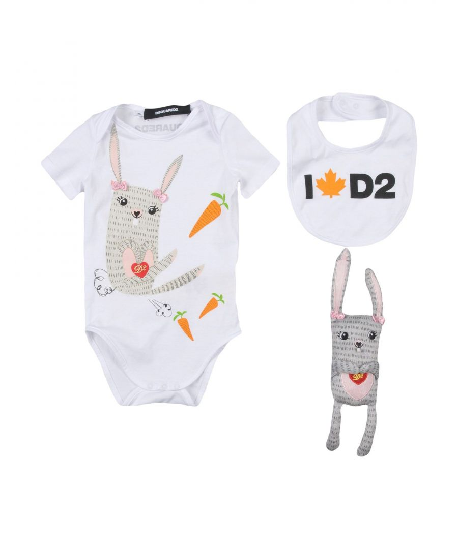 Image for BODYSUITS & SETS Girl Dsquared2 White Cotton