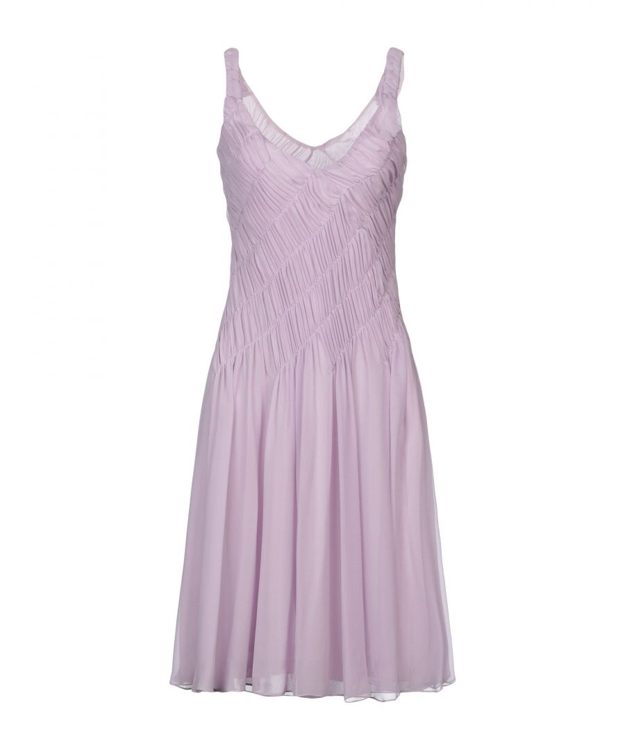 Image for Emporio Armani Mauve Silk Dress