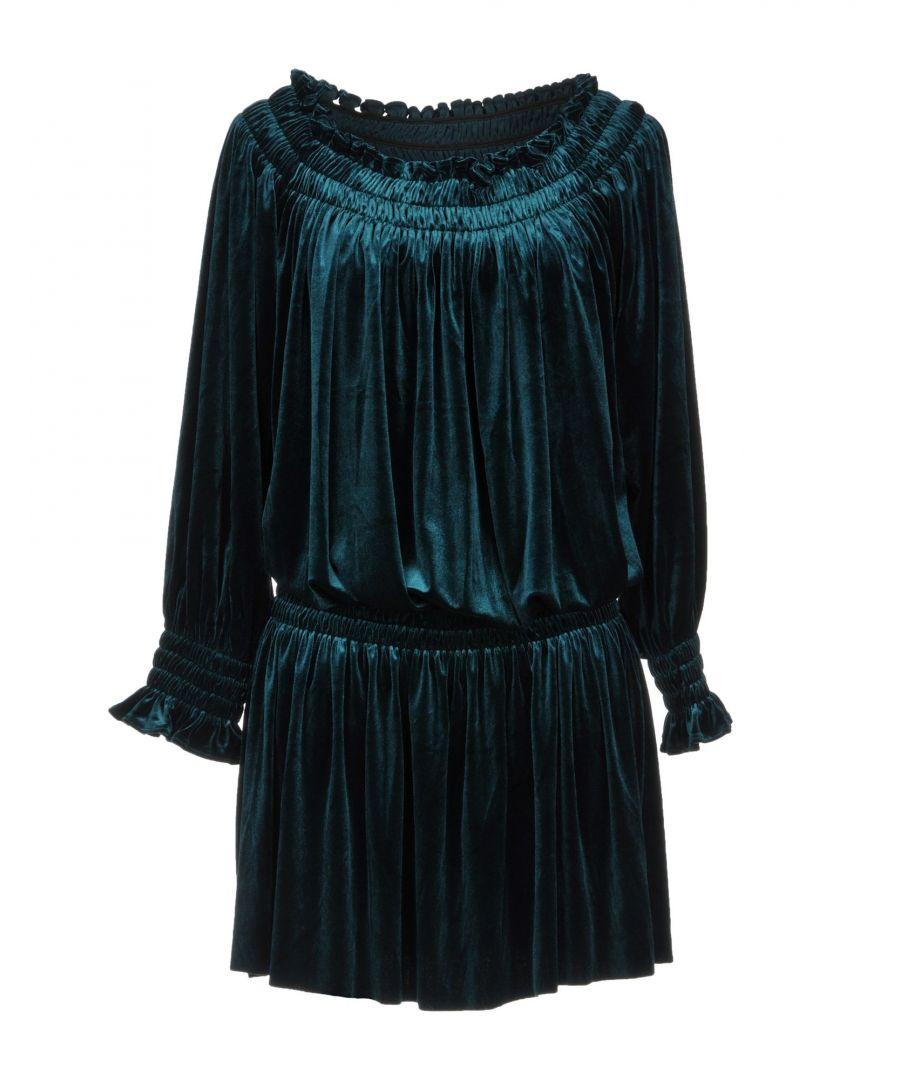 Image for Norma Kamali Green Long Sleeve Dress