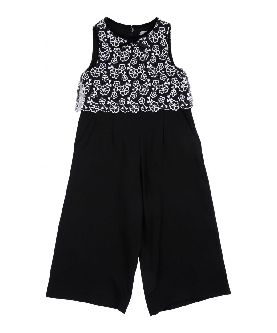 Image for BODYSUITS & SETS Girl Ermanno Scervino Junior Black Polyester