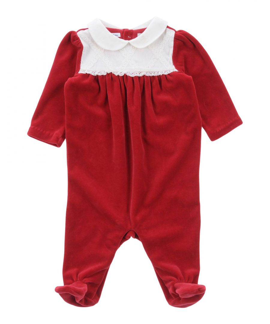 Image for BODYSUITS & SETS Girl Ralph Lauren Red Cotton