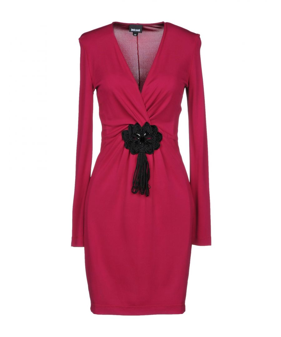 Image for Just Cavalli Garnet Long Sleeve Dress