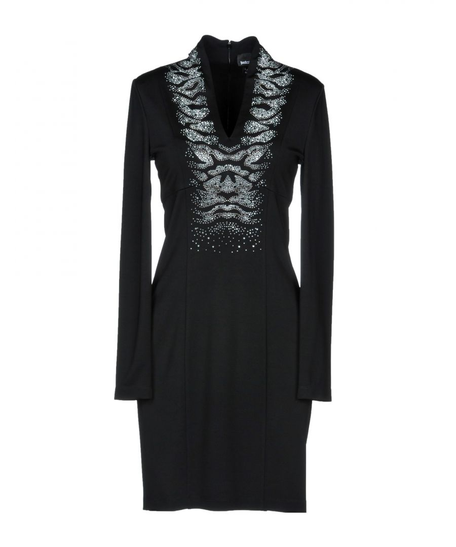 Image for Just Cavalli Black Long Sleeve Dress