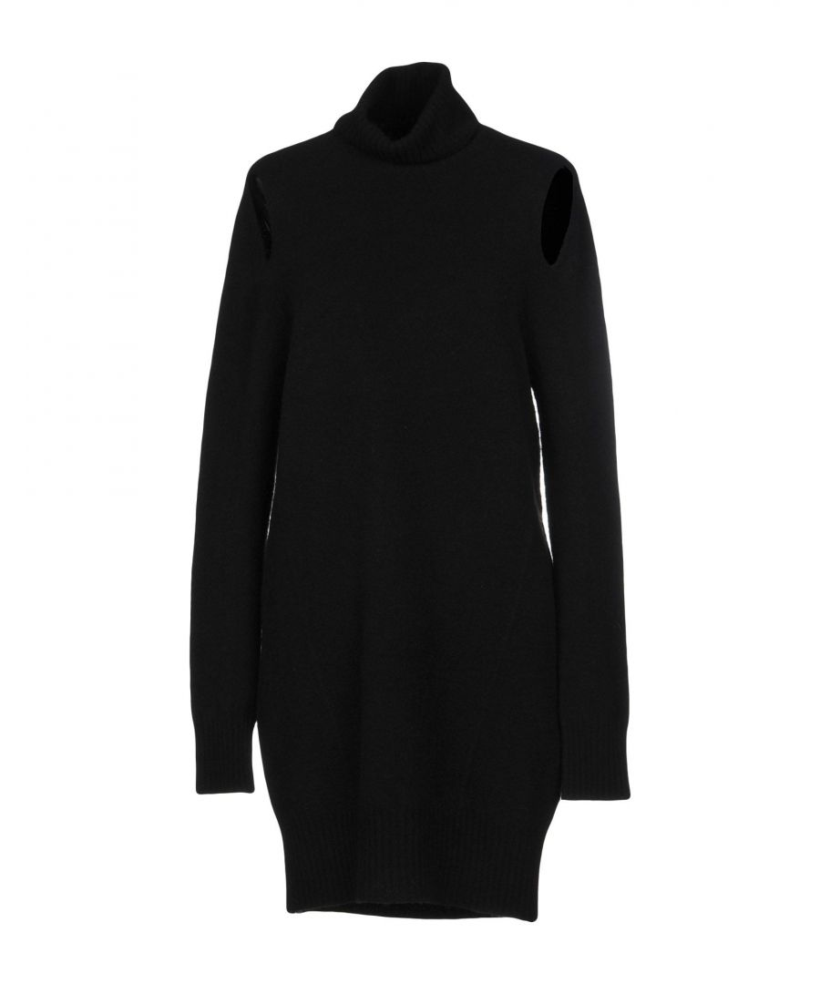Image for Pinko Black Wool Knit Dress