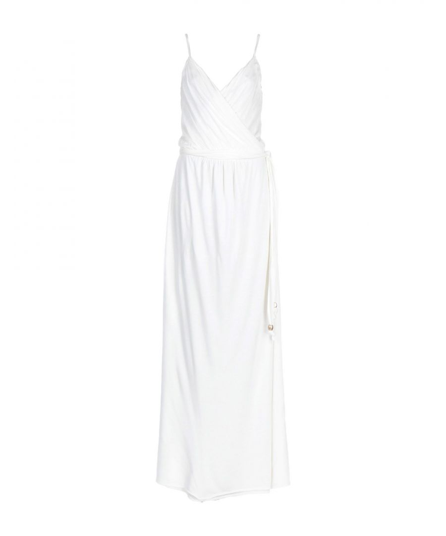 Image for Melissa Odabash White Modal Full Length Dress
